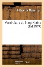 Vocabulaire du Haut-Maine