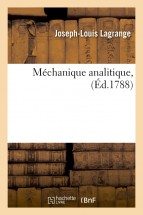 Méchanique analitique , (Éd.1788)