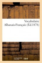 Vocabulaire Albanais-Français