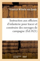 Instruction adressée aux officiers d'infanterie pour tracer