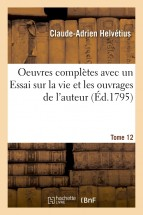 Oeuvres complètes Tome 12