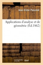 Applications d'analyse et de géométrie