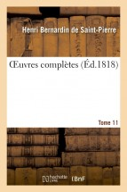 OEuvres complètes. Tome 11