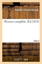 OEuvres complète. Tome 3