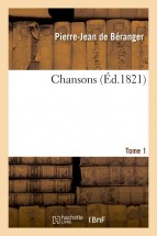 Chansons. Tome 1
