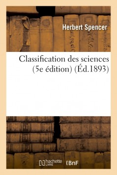 Classification des sciences (5e édition)